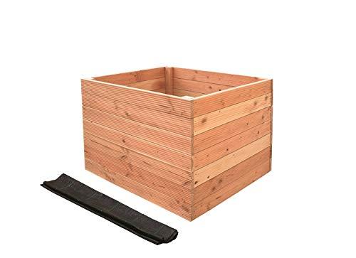 Outdoor Wood 1 Stück Douglasie Hochbeet LxBxH 1200x1000x840 mm