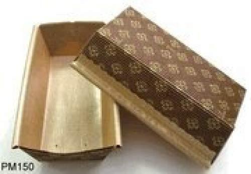 "Hanami Basics, Small Paper Loaf Pan, 25-Pack, 6"" x 2.5"" x 2"""