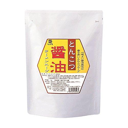 平和食品工業 とんこつ醤油ラーメンスープ 1kg袋×10
