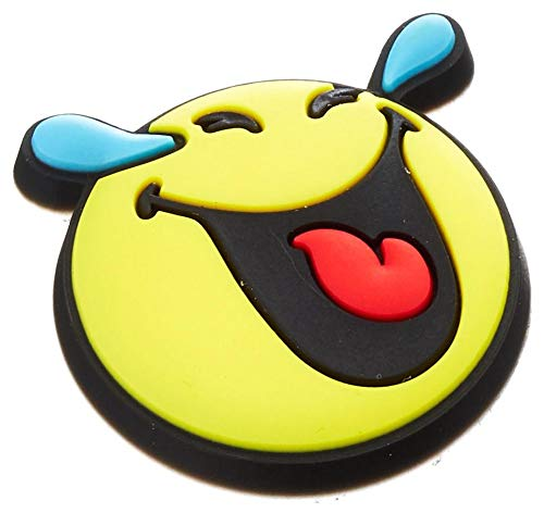Crocs Smiley So Yummy 3 Pack Shoe Charms, Multicolor, One Size