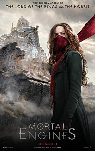 Mortal Engines - Authentic Original 27x40 Rolled Movie Poster