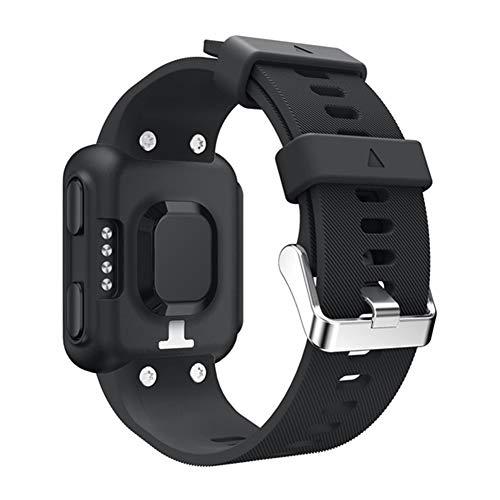 Pulseira de relógio de silicone macio Heaven2017, pulseira de reposição para Garmin Forerunner 35