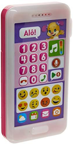Telefone Emojis Aprender e Brincar Fisher Price, Mattel, Multicor