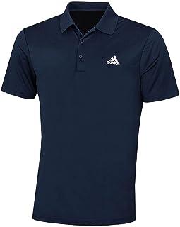 adidas Golf Mens 2021 Performance Left Chest Logo Stretch Soft Polo Shirt