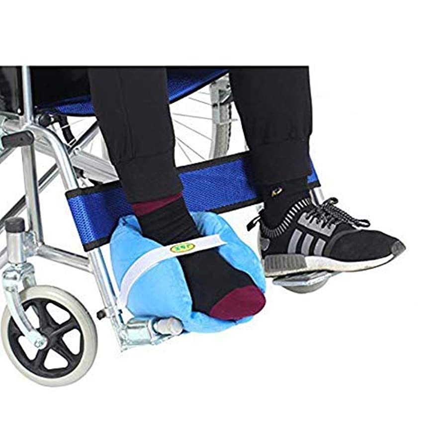心から分解する機械的に通気性の高い弾力性のあるスポンジを充填した褥瘡予防のためのかかと枕プロテクター臥床クッション
