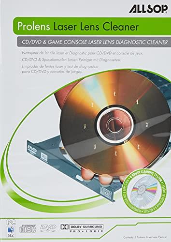 ALLSOP 59147 ProLens Laser Lens Diagnostic Cleaner for DVD and CD