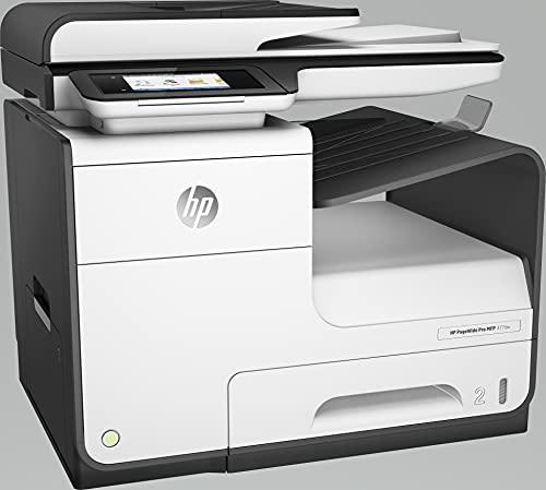 HP PageWide Pro MFP 477dw D3Q20B, Impresora Multifunción Tinta, Color, Imprime, Escanea, Copia y Fax, Wi-Fi, Ethernet, USB 2.0, HP Smart App, Pantalla Táctil, Blanca