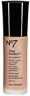 Boots No7 Stay Perfect Foundation (Cool Beige) by Boots