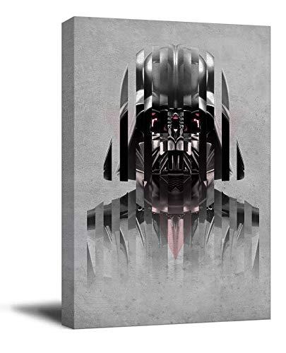 YITUOMO Star Wars - Póster enmarcado de Darth Vader de David Prowse, decoración de pared para dormitorio, arte de oficina, estirado y listo para colgar