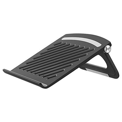 Laptop Stand for Desk,Adjustable Portable Laptop Holder, ABS Desktop Ventilated Foldable Laptop Holder for Laptops Under 17''