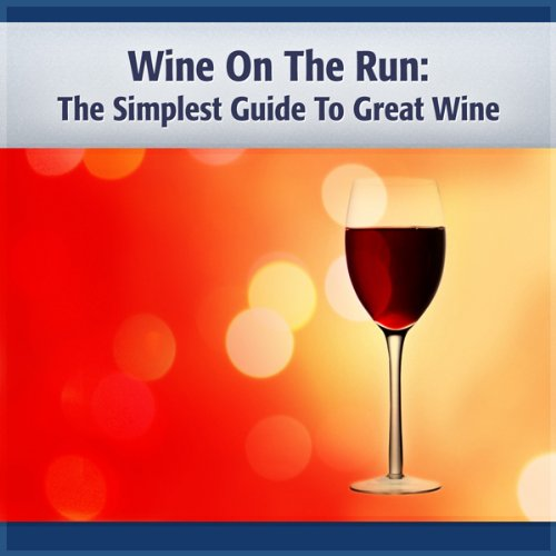 Wine on the Run audiobook cover art