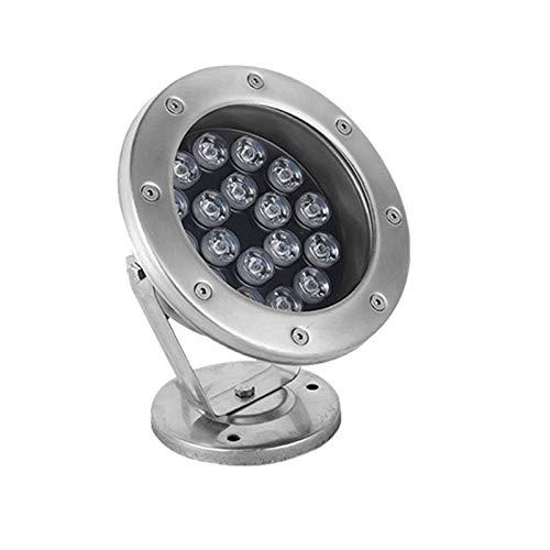 AWSAD Iluminación LED para estanques de 15 W con Control Remoto, luz subacuática Impermeable IP68, luz Colorida para paisajes (Color : with Remote Control, Size : 24v)
