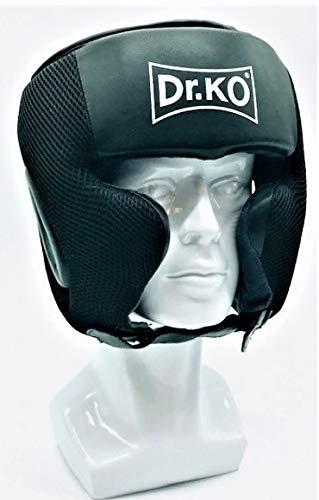 Dr. KO Caschetto Boxe MMA Pugilato Casco Kick Boxing Protezione Muay Thai Rinforzato con Faccia Bar L