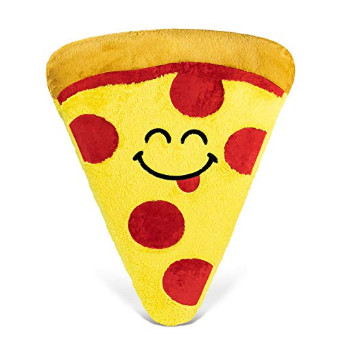 Good Banana Pizza Floor Floatie, Kids' Round Floor Pillow Seating, Soft Comfortable Cushion, Inflatable Seat, Fun & Colorful Decor for Bedroom, Playroom, Reading Nook, Living Room, & Dorm Room