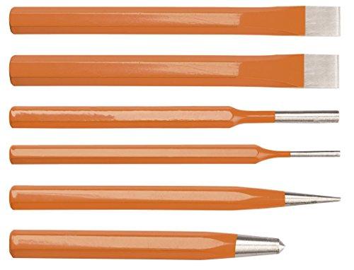 Neo Tools 33-061 punzones y cortafrío, Set de 6 Piezas