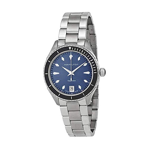 Hamilton Jazzmaster Seaview Blue Dial Stainless Steel Ladies Watch H37451141 - http://coolthings.us