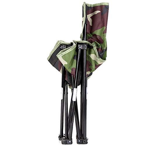 OGTFRWS Silla Plegable de Camuflaje Silla de Pesca de Ocio Silla portátil al Aire Libre Silla de Pesca Grande