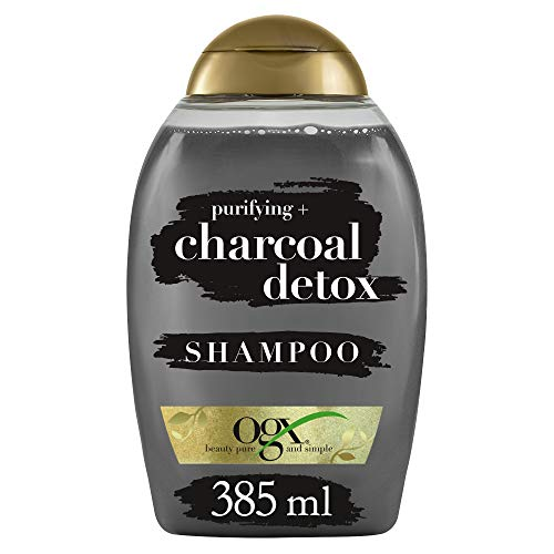 OGX Purifying Charcoal Detox, champú, 385ml