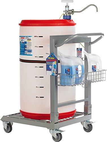 SONAX Werkstatt-Abfüllstation rollbar für AntiFrost&KlarSicht (1  Stück) direkt am Arbeitsplatz | Art-Nr. 04967000