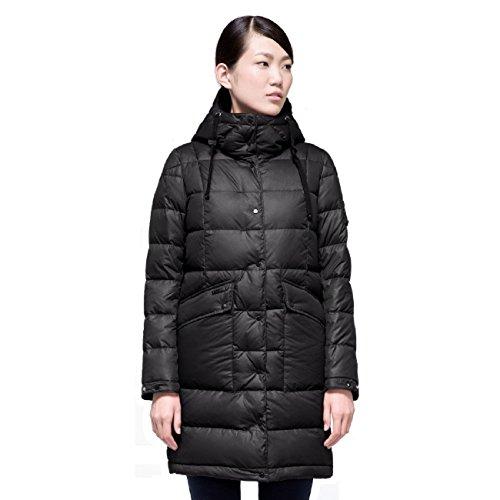 MSD-V535 Damen Daunenmantel MISUN Outdoor Parka mit Kapuze (Länge: 80 cm) down coat