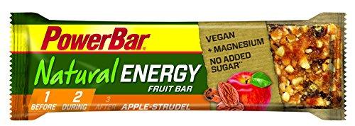 PowerBar Natural Energy Fruit-Nut 6 x 40g Riegel Apple Strudel