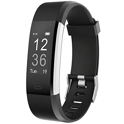 YAMAY Fitness Tracker, Fitness Watch Activity Tracker withHeart Rate Monitor, Sleep Monitor, Step Counter, Calories, 14 Sports Tracker, IP67 Waterproof, Slim Pedometer Watch for Men, Women and Kids