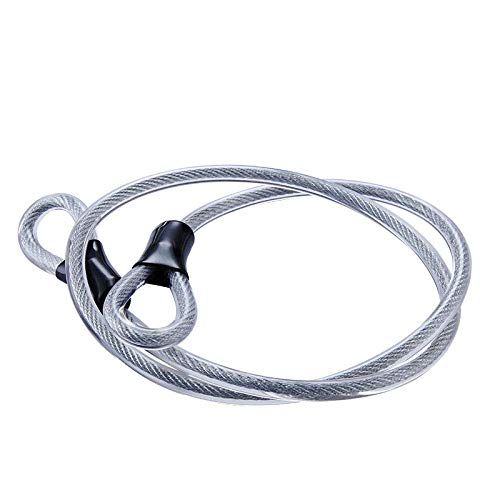 Lock Pad Lock 8mm 1.2m fietsslot Wire Fietsen sterke stalen kabelslot MTB Road Bike Lock Rope Anti-diefstal beveiliging Huangwei7210