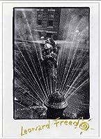 ポスター レナード フリード Harlem New York/Freed 額装品 アルミ製ベーシックフレーム