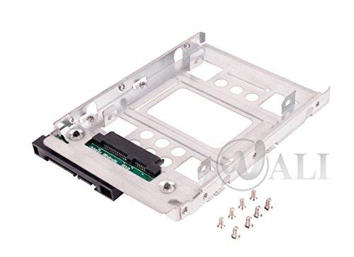 """2.5"""" ssd à 3,5"""" sata disque dur bouchon adaptateur caddy plateau échange à chaud convertisseur compatible avec tous les 3,5 """"sas/sata plateau caddy"""