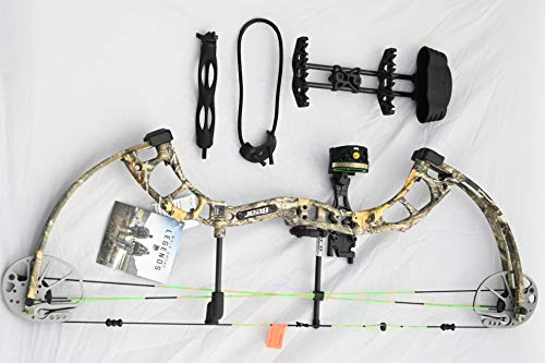 Bear Archery Cruzer RTH 5-70# Right Hand Bow Pkg Realtree Edge Camo