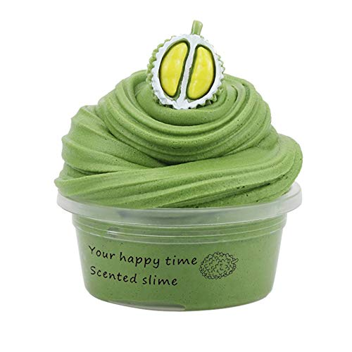 DIY Fluffy Slime Supplies Fruits Slime Kit,Slime Supplies Stress Relief Toy for Girls And Boys,Dual Color Fluffy Slime Plasticine Fun Stress Relief Toy,Slime Aromatherapy Pressure Children Slime To