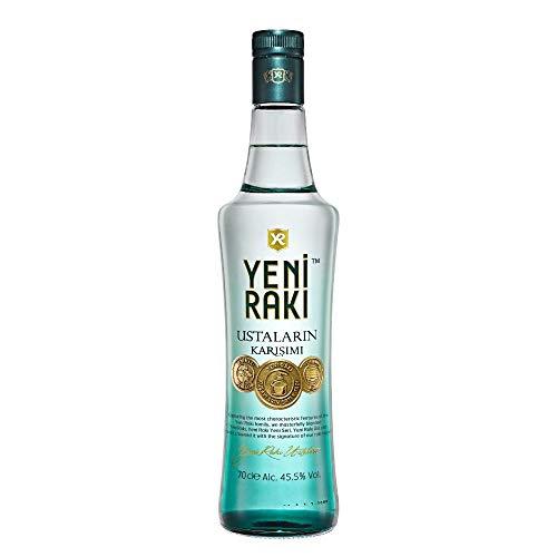 Yeni Raki USTALARIN KARISIMI – MASTER BLEND: DIE AROMEN DER Yeni Raki RAKI FAMILIE VEREINT – 1x0,7l Raki mit 45,5% vol. - Hergestellt in der Türkei