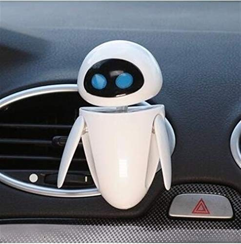Best Deals! ZQALOVE Car Freshener Cartoon Robot Vent Clip Perfume Diffuser Cute Decor Automobile Int...