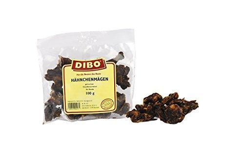 DIBO Hähnchenmägen, 100g-Beutel, der kleine Naturkau-Snack oder Leckerli für Zwischendurch, Hundefutter, Qualitätskauartikel ohne Chemie