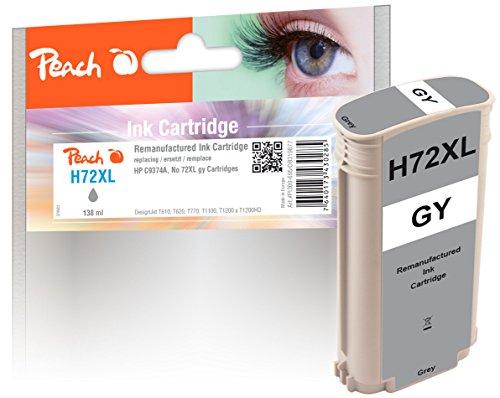 Peach Tintenpatrone grau kompatibel zu HP No. 72, C9374A