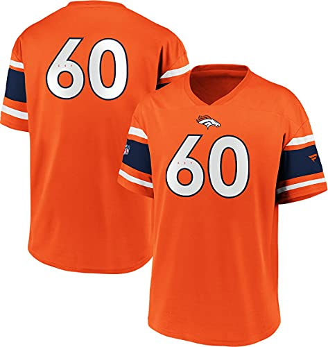 Fanatics NFL Denver Broncos Trikot Shirt Iconic Franchise Poly Mesh Supporters Jersey (XXL)