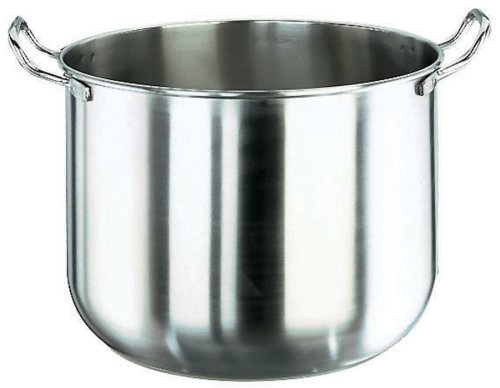 Paderno World Cuisine 11 7/8 Inch Stainless Steel Mixing Bowl for Mixer