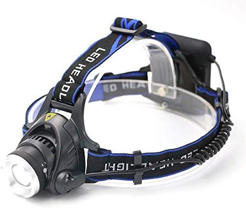 LIMQ Stirnlampe Outdoor Nachtfischen Angeln Scheinwerfer Einstellbarer Fokus 4 * AA Batterie LED Aluminiumlegierung Cree T6 Starke Stirnlampe Stirnlampen
