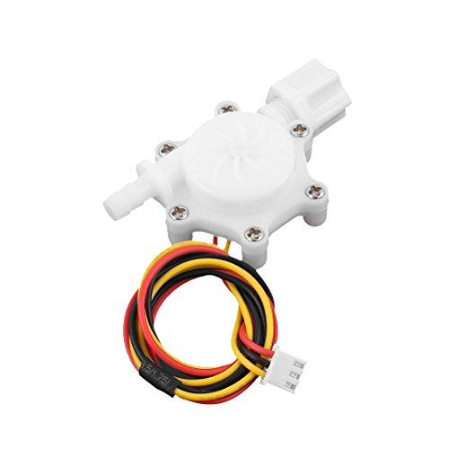 """sourcingmap® G1/4"""" 6mm Hall Effekt Wasserfluss Sensor Schalter Flüssigkeit Meter 0,2-2,5L/m de"""
