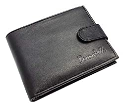 Designer BUONO PELLE Real Leather Mens Wallet Credit Carder Holder