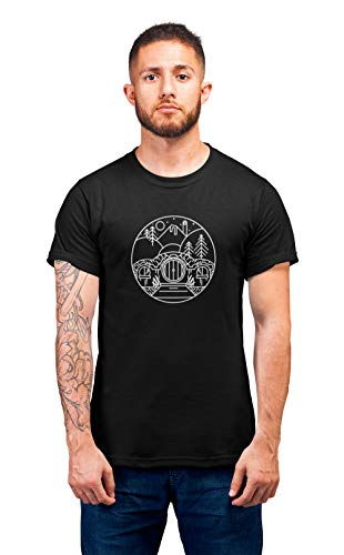 Luxyl Unisex from The Shire T-Shirt Black Large