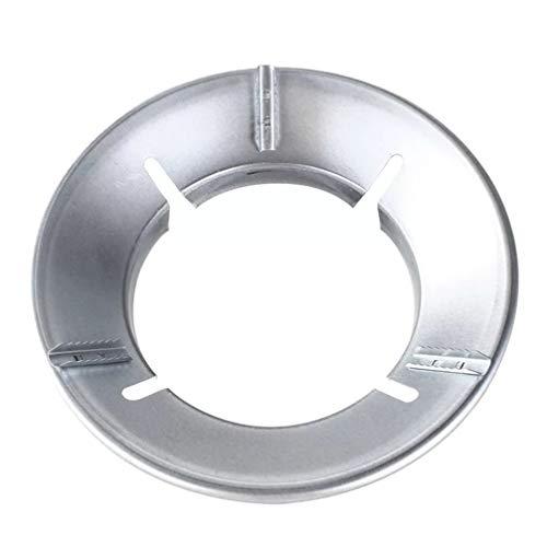 Hemoton Wok Rack Wok Ring Support Stand for Gas Hobs Cast Iron Pan Holder Stove Trivets Milk Pot Cooktop Range Pan Gas Burner Support Ring 4 Holes
