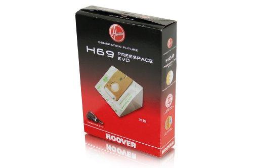 La poussière Sac papier Hoover H69 35601053 Freespace EVO Pets TFV2015 authentique neuf
