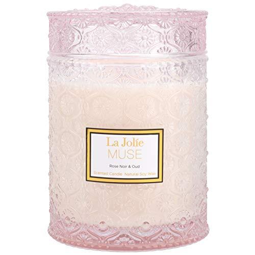 La Jolíe Muse Vela aromatica - Vela perfumada de Rosa