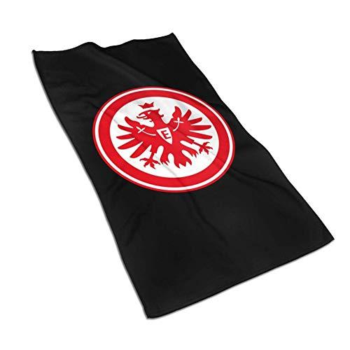 DJNGN Eintracht Frankfurt Logo Fußballmannschaft 5x57in Badetücher Mikrofaser-Duschtuch für Körper Super Absorbent & Qu