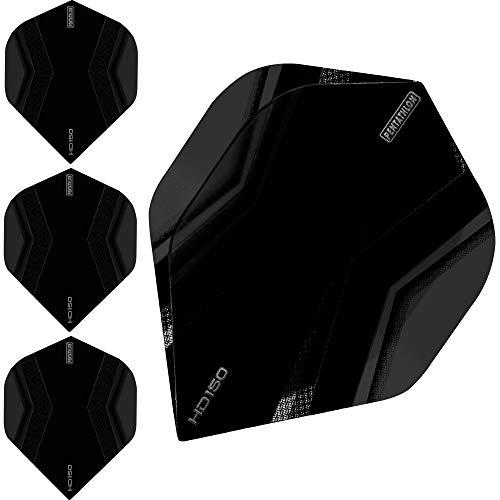 Pentathlon HD150 Dart Flights – Ultra dick – Standard – XWing – 10 Sets (30 Stück), grau