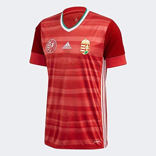 adidas Herren HFF H JSY T-Shirt, Rojo/Verfue/Blanco, L
