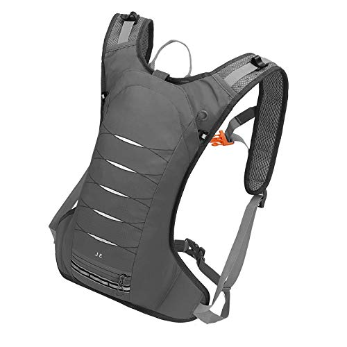 Cycling Backpack Biking Hydration Water Bag Riding Bike Rucksack Grey