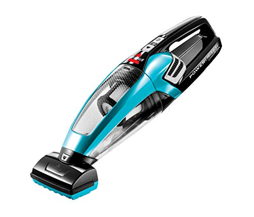 Bissell Powerlifter 12V Lithium Ion Cordless Hand Vacuum with Motorized Brush, Upholstery Tool and Crevice Tool, Teal (2389C)