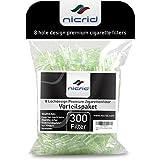 Nicrid 8 Loch Premium Einweg-Zigarettenfilter –...